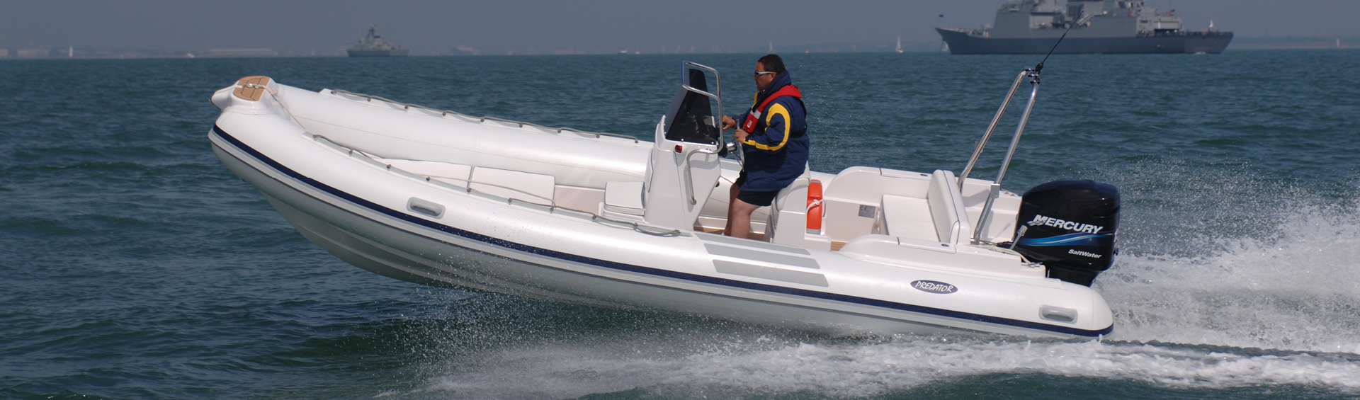 Predator 660 RIB for sale rib